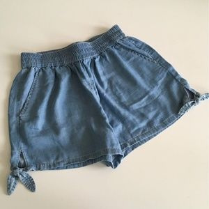 Francesca's Soft Denim Shorts